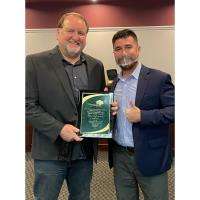 Pegasus Insurance Agency's Owner, Michael Kryger, is Awarded The City of Longwood September Business Person of the Month