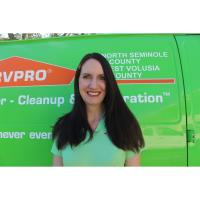 SERVPRO Of North Seminole And West Volusia Welcomes A New Member To The Team!