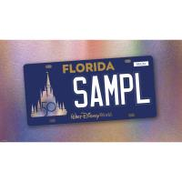 Design Revealed for Walt Disney World Florida License Plate Benefiting Make-A-Wish
