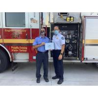 Seminole County Firefighter Ed Schuster Named Employee of the Month