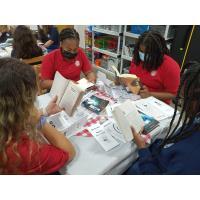 Seminole Science Charter School hosts book tasting in media center