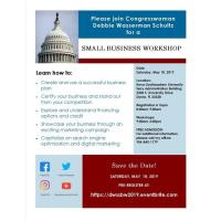 Small Business Workshop with U.S. Rep. Debbie Wasserman Schultz
