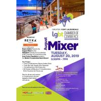 GFLGLCC August Networking Mixer at Lona