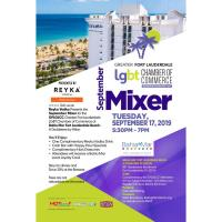 GFLGLCC September Mixer at Bahia Mar Fort Lauderdale Beach - A Doubletree by Hilton