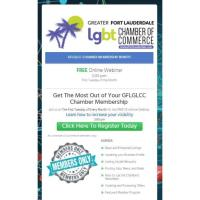 FREE Webinar: Get The Most Out of Your GFLGLCC Chamber Membership