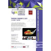 GFLGLCC Quarterly Networking Luncheon Presented by AHF - AIDS Health Foundation
