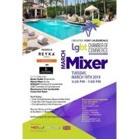 GFLGLCC March Mixer at  Renaissance Fort Lauderdale Cruise Port Hotel