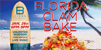 THE B OCEAN FLORIDA CLAMBAKE