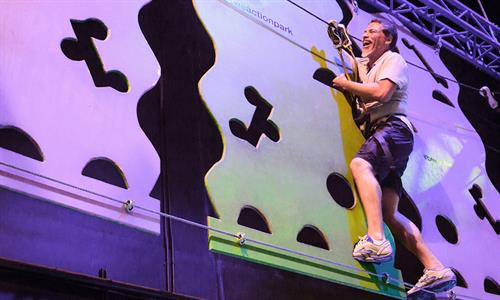 High indoor Ropes Course Adventure for thrill seekers and those not afriad of heights.