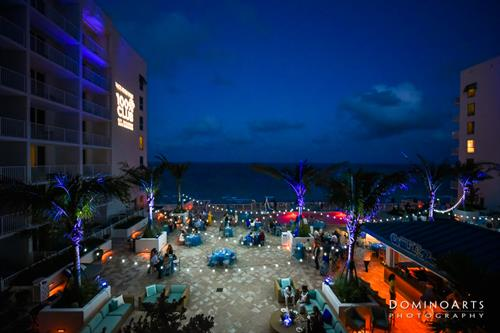 Margaritaville Hollywood Beach Resort hosts a range of events including corporate, wedding and social events, within 30,000 square feet of flexible indoors and outdoors space