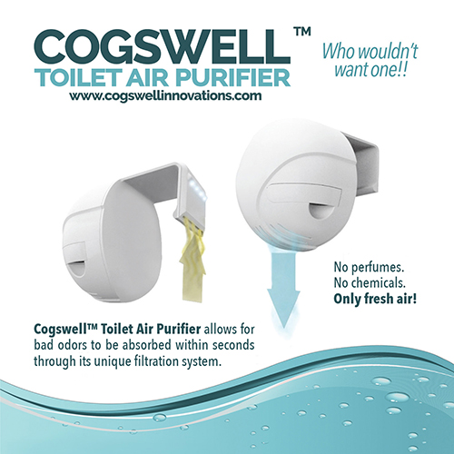 Cogswell™ Toilet Air Purifier