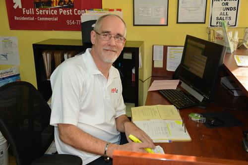 AAA Pest Control, Alan Caputo Office Manager