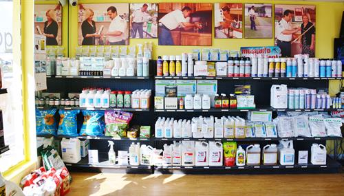 AAA Pest Control, Our Store- do it on your own