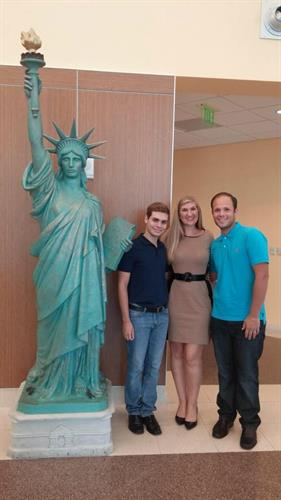 Happy Clients After Green Card Approval