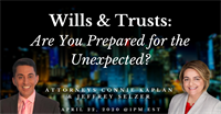 Wills & Trusts: Are You Prepared for the Unexpected?