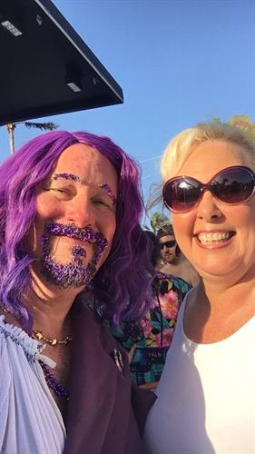 You never know where you might meet Jesus! (Community Church was at Beach Pride 2018)