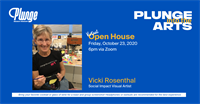 Plunge Into The Arts with Vicki Rosenthal
