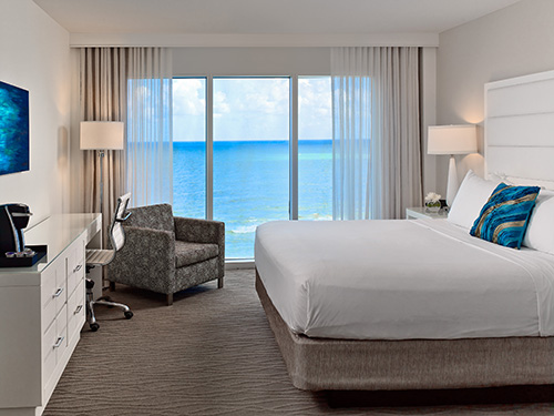 Preferred King Ocean View Guest Room