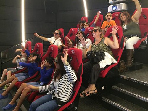 The highlight of the TO FLY aviation exhibit is the state-of-the-art 7D capsule theater that will take students on an exhilarating flight through the sky using a 3D aviation film and multi-sensory experiences to create an unforgettable and educational experience.