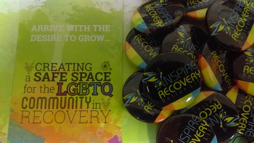 Inspire Recovery LGBTQIA+ Treatment Center Pins
