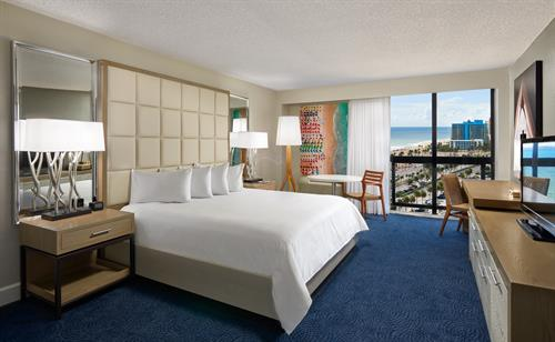 Partial Ocean View King Guest Room