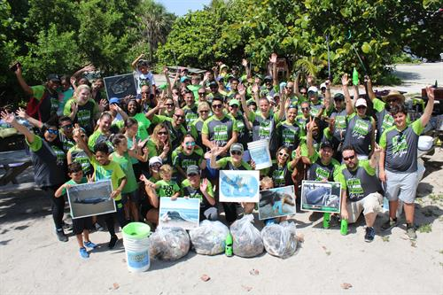#CPGreenChallenge Beach Clean Up