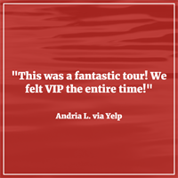 Find out why we are 5 stars on TripAdvisor and Yelp!