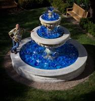 Bacara Resort Fountain by Saul Alcaraz