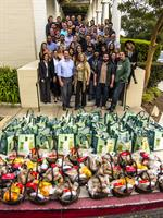 ONTRApeeps donate 50 Thanksgiving dinners to C.A.S.A. each year