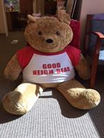 Our greeter - the Good NeighBear