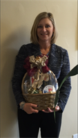 Tammy's thank you basket for speaking at NAIFA meeting