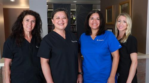 The staff at Visage at the Vein Clinic