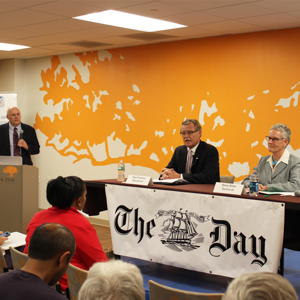 Chamber and The Day Partnering for Candidate Debates