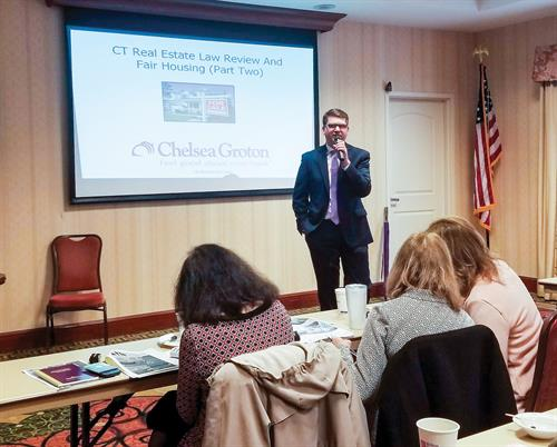 Chelsea Groton hosts classes for realtors