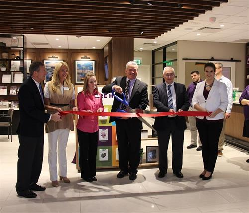 Ribbon Cutting at Center Groton Branch