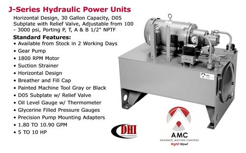 AMC J-Series Hydraulic Power Unit