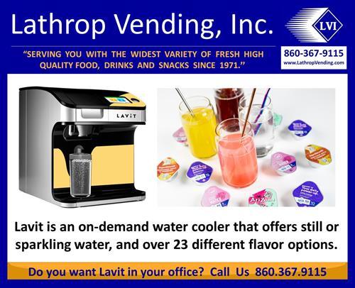 Lavit - The cooler water cooler!