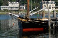 The EMMA C. BERRY was built in nearby Noank, CT, in 1866 and is a National Historic Landmark.