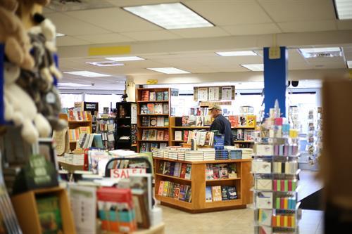Bank Square Books Interior