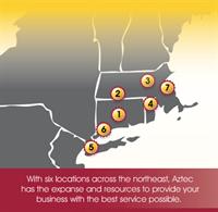 Locations Across New England