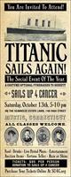 You are invited to attend the SU4C Titanic Gala!