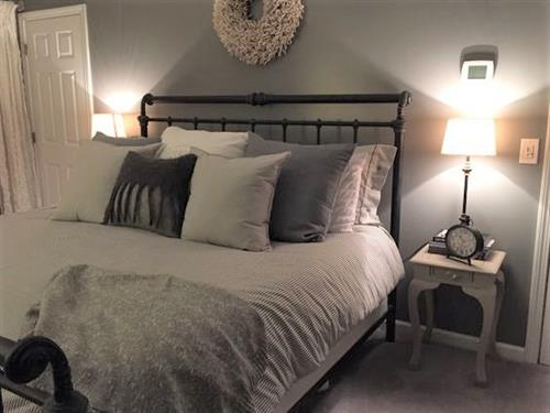 Gray Master Bedroom