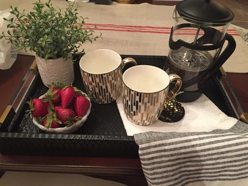 Kitchen Tray Vignette