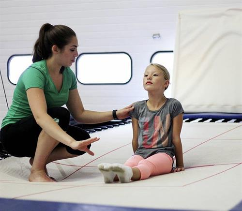 Our trampoline classes are great for beginners and all ages!