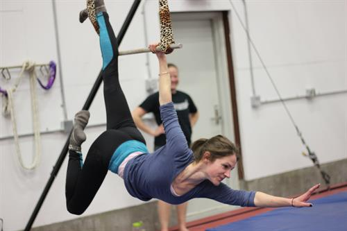 Static Trapeze is beautiful and fun