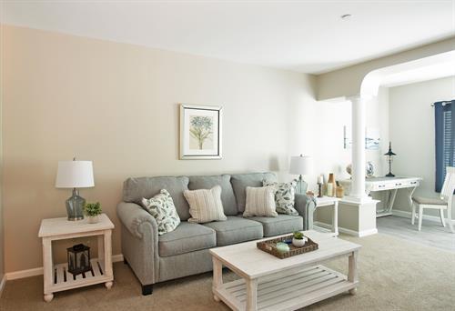 1 Deluxe Bedroom Living Room