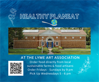 Healthy PlanEat Launches Local Farm Food Pick Up Location at the Lyme Art Association