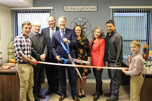 Grand Opening of Groton Office, October 2019