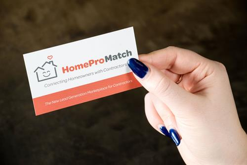 HomePro Match Business Card