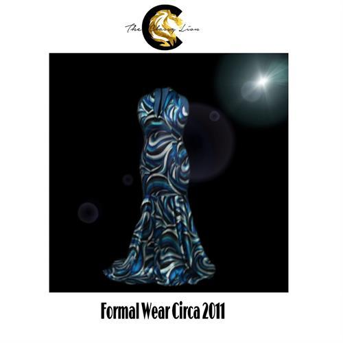 Formal wear custom designed for prom